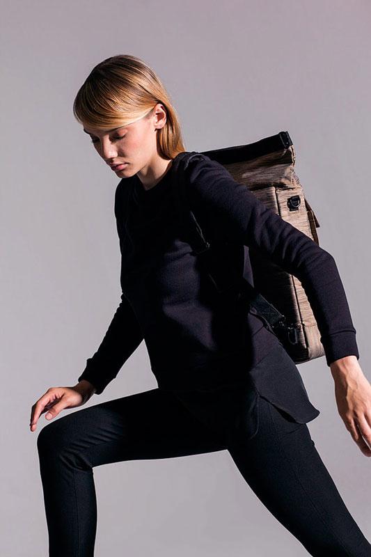 Ucon Acrobatics — batoh — béžový, hnědý, vzorovaný — sustainable, vegan — Derek Backpack