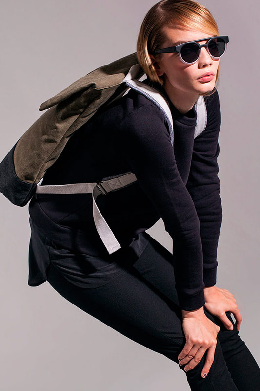 Ucon Acrobatics — batoh — olivově hnědo-zelený — sustainable, vegan — Karlo Backpack