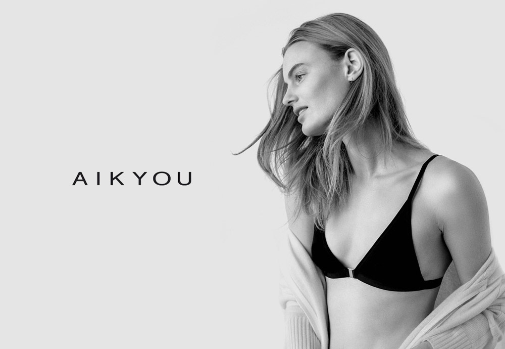 Luxusní dámské spodní prádlo Aikyou — sustainable, vegan, faitrade