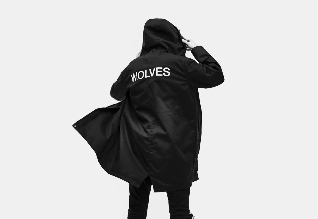 Parky a mikiny polského labelu Ortiz v kolekci Wolves