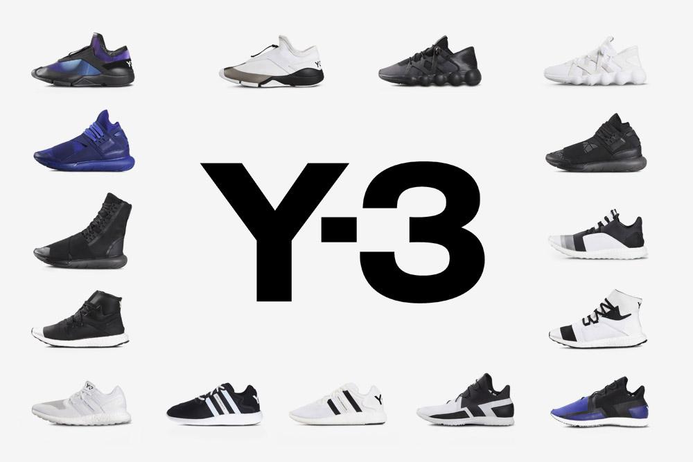 Y-3 — sneakers — futuristické boty — tenisky — luxusní