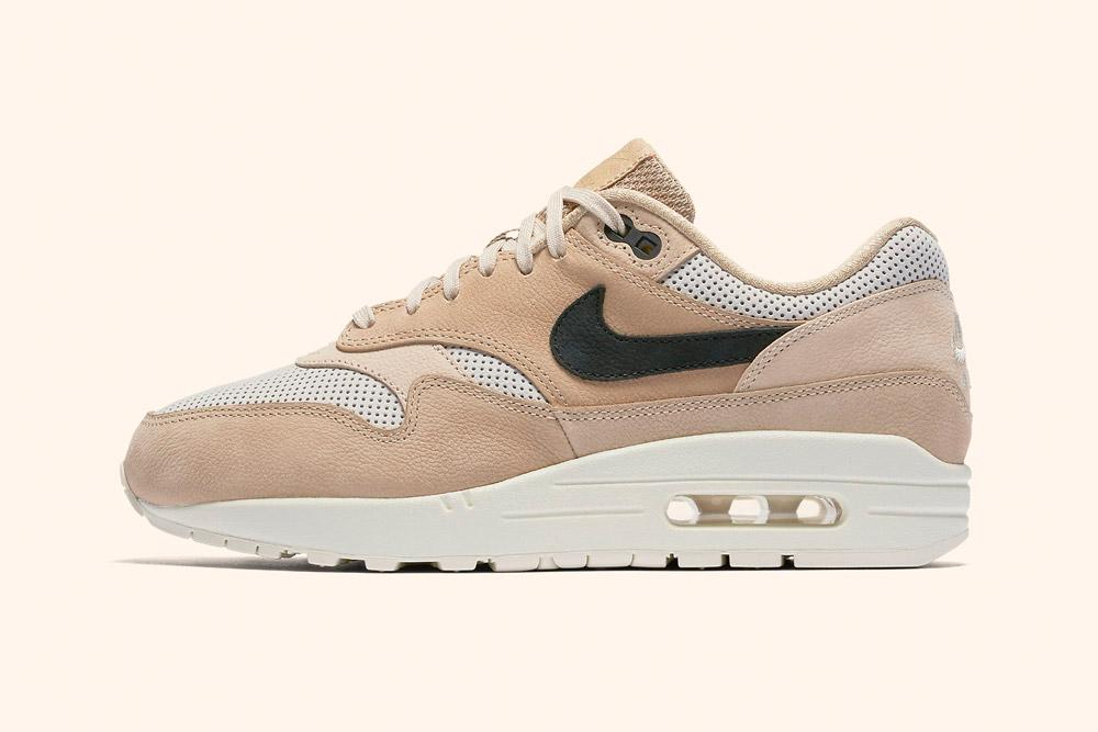 Nike Air Max 1 Pinnacle Wmns — dámské boty — tenisky — sneakers — hnědé, béžové — brown, beige