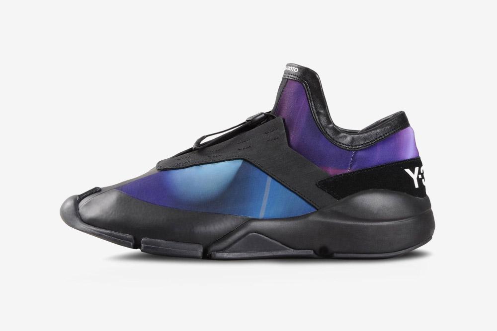 Y-3 — Future Low — sneakers — purple — futuristické boty — tenisky — fialové, černé — luxusní