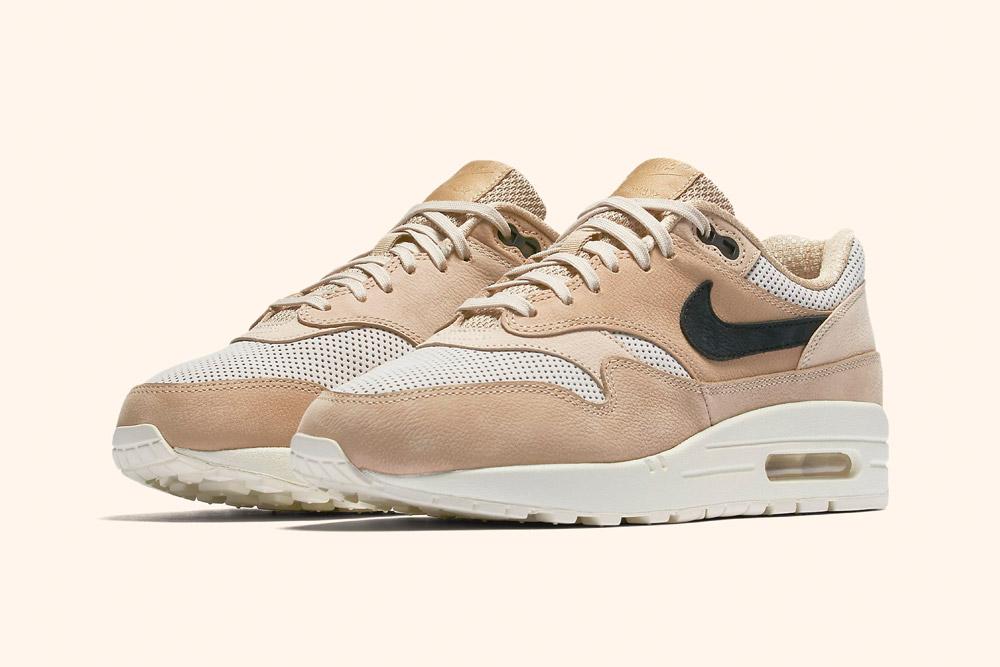 Nike Air Max 1 Pinnacle Wmns — dámské tenisky — boty — sneakers — hnědé, béžové — brown, beige