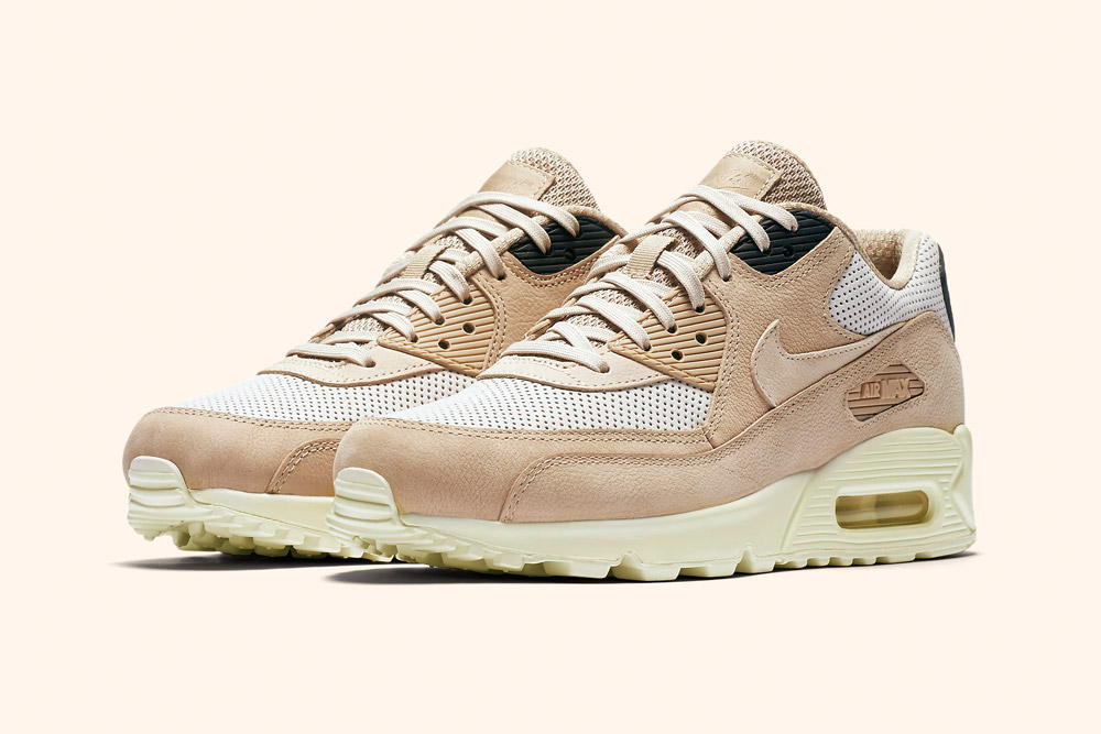 Nike Air Max 90 Pinnacle Wmns — dámské tenisky — boty — sneakers — hnědé, béžové — brown, beige