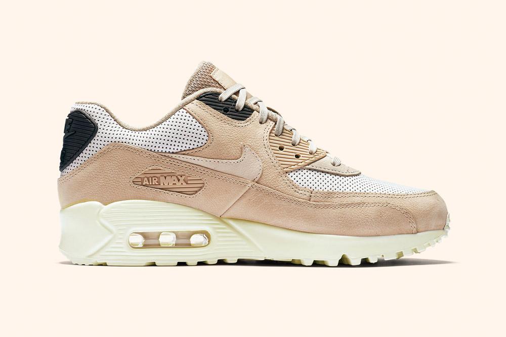 Nike Air Max 90 Pinnacle Wmns — dámské boty — tenisky — sneakers — hnědé, béžové — brown, beige