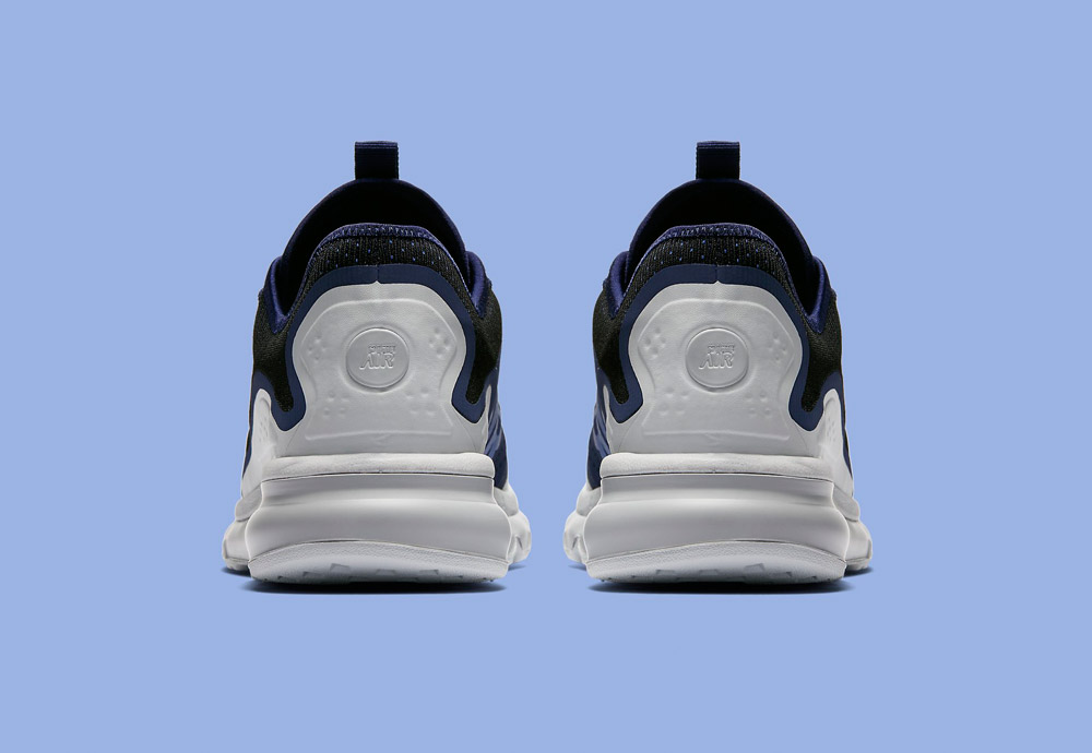 Nike Air Max More — zadní pohled