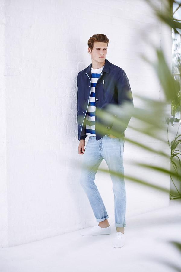 Bench — pánské modré džíny