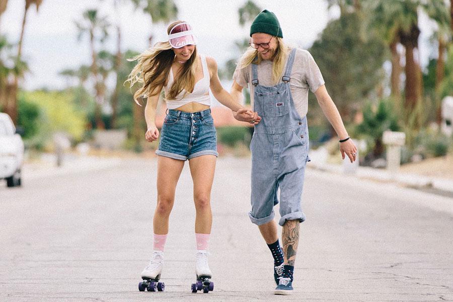 Happy Socks — ponožky — pánské a dámské — vysoké — bavlněné — lookbook jaro/léto 2017