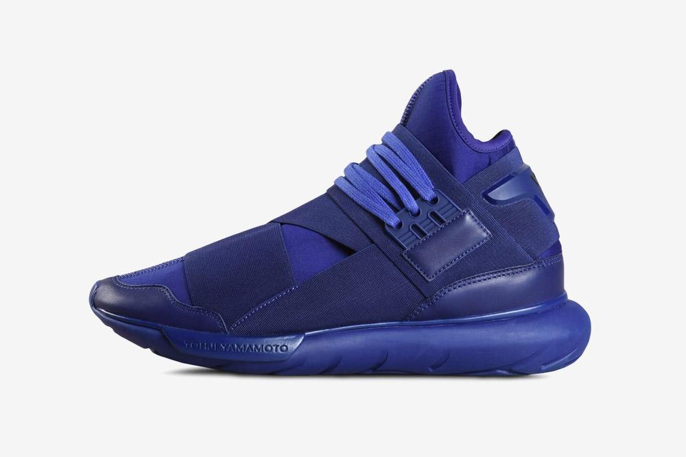 Y-3 — Qasa High — high-top sneakers — purple — futuristické — kotníkové boty — fialové — luxusní