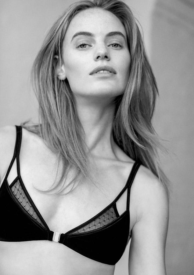 Aikyou — podprsenka Mia — černá — bavlněná — bavlněné dámské spodní prádlo — luxusní — sustainable — underwear — lingerie — bra