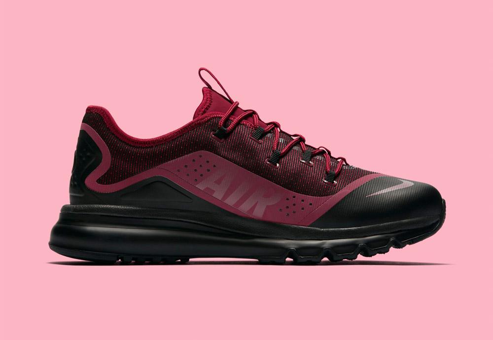 Nike Air Max More — tenisky — pánské — boty — červené (red)