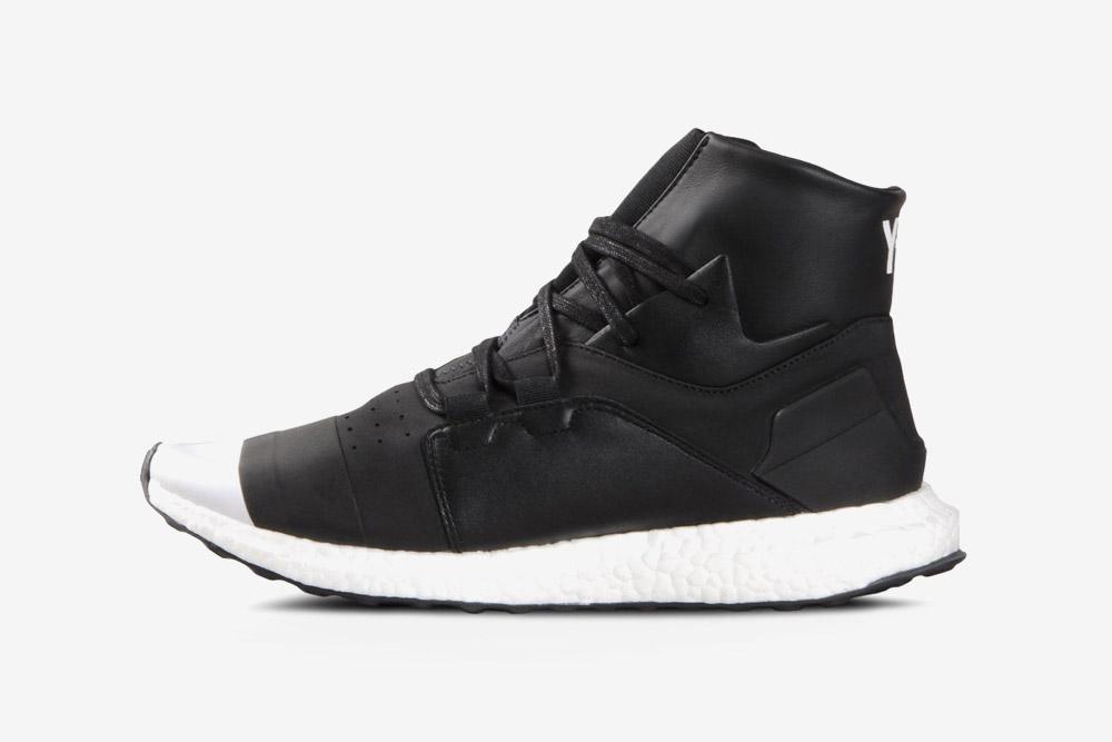 Y-3 — Kozoko High — sneakers — black — futuristické boty — tenisky — černé — luxusní