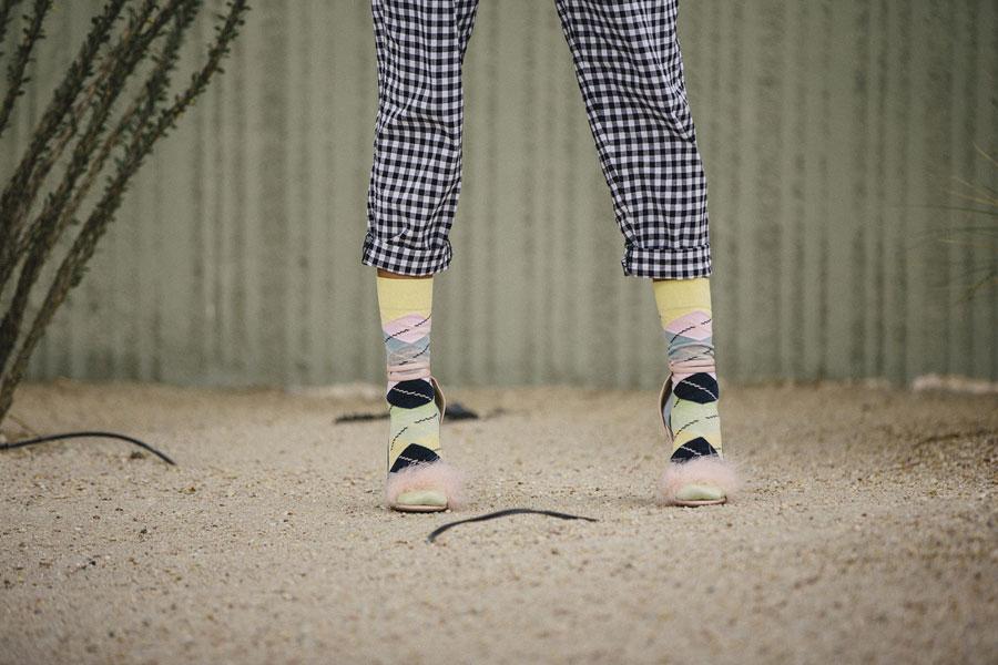 Happy Socks — ponožky — barevné — dámské — vysoké — bavlněné — lookbook jaro/léto 2017