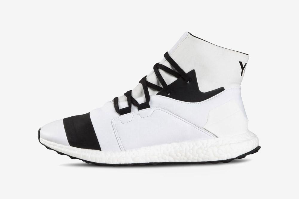 Y-3 — Kozoko High — sneakers — white — futuristické boty — tenisky — bílé — luxusní