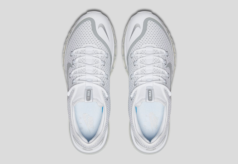 Nike Air Max More — horní pohled
