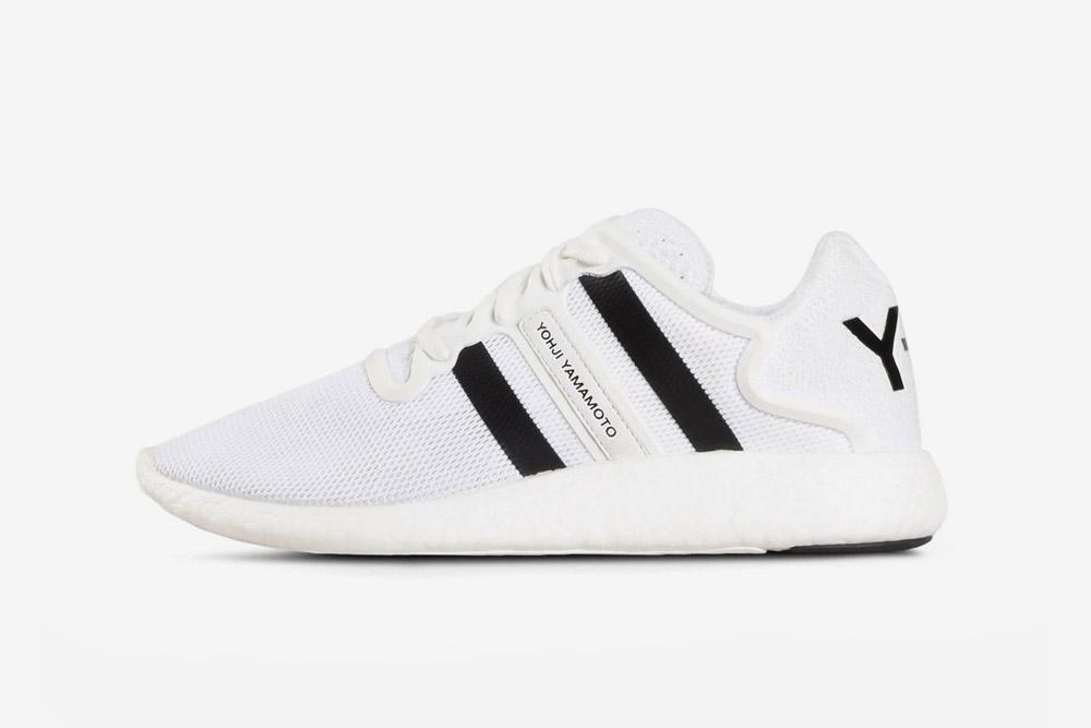 Y-3 — Yohji Run — sneakers — white — futuristické boty — tenisky — bílé — luxusní
