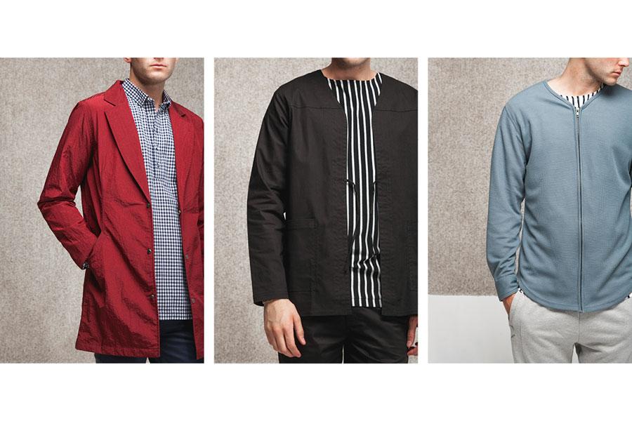 Publish — pánské jarní bundy a kabáty — lookbook jaro 2017