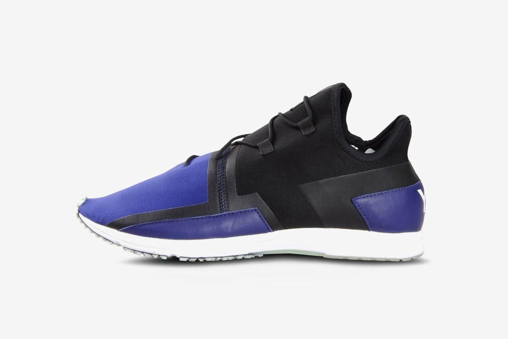 Y-3 — Arc RC — sneakers — black/purple — futuristické boty — tenisky — fialové, černé — luxusní