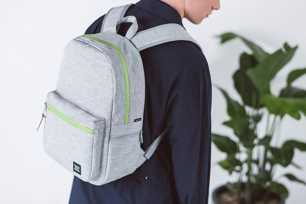 Herschel Supply — batoh — Harrison Backpack — šedý — lookbook léto (summer) 2017