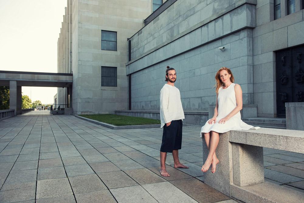 b3208d0f902 K.BANA — lněné oblečení na jógu a pro volný čas — dámské — pánské