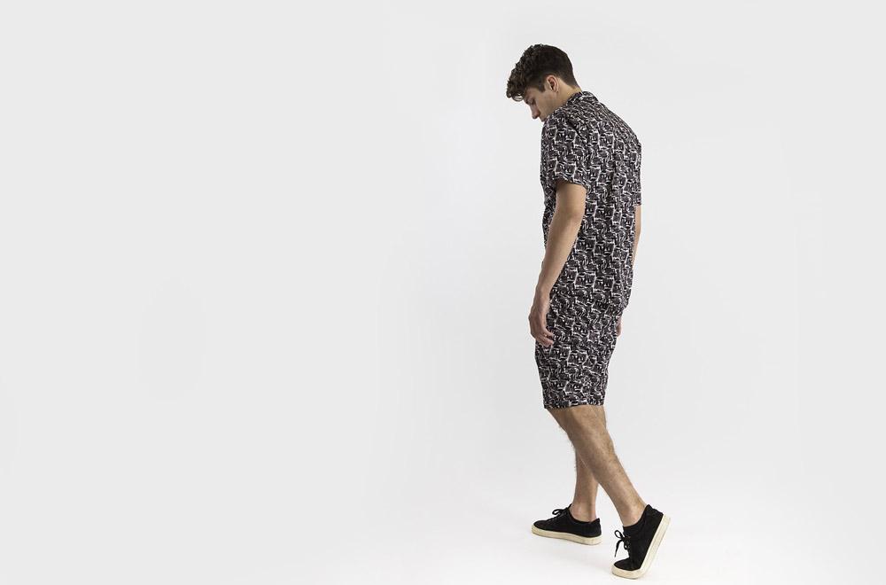RVLT — košile se vzorem — šortky se vzorem