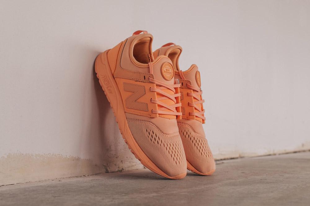 New Balance 247 Sport — boty — tenisky — pánské — sneakers — světle oranžové — orange — Breathe Pack