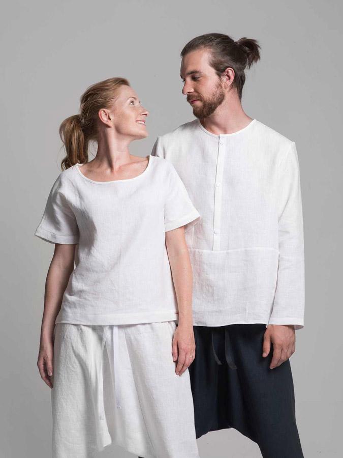 K.BANA — lněné košile — dámské — pánské