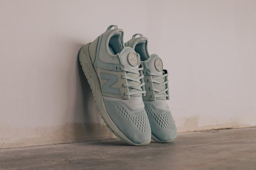 New Balance 247 Sport — boty — tenisky — pánské — sneakers — světle zelené — mint green — Breathe Pack