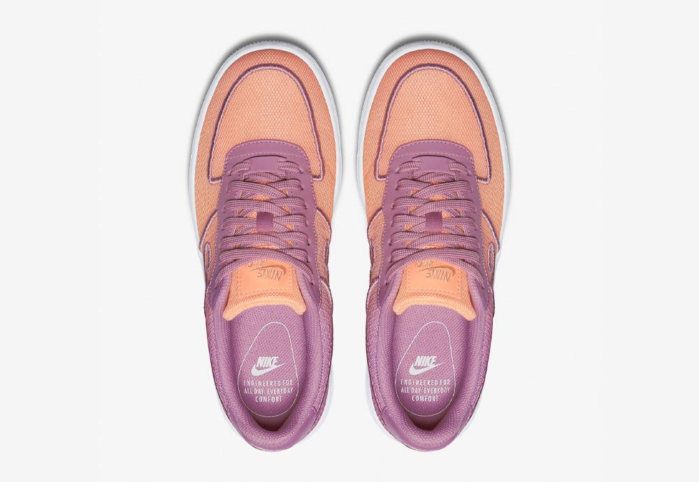 Nike Air Force 1 Low Upstep BR — tenisky na platformě — horní pohled