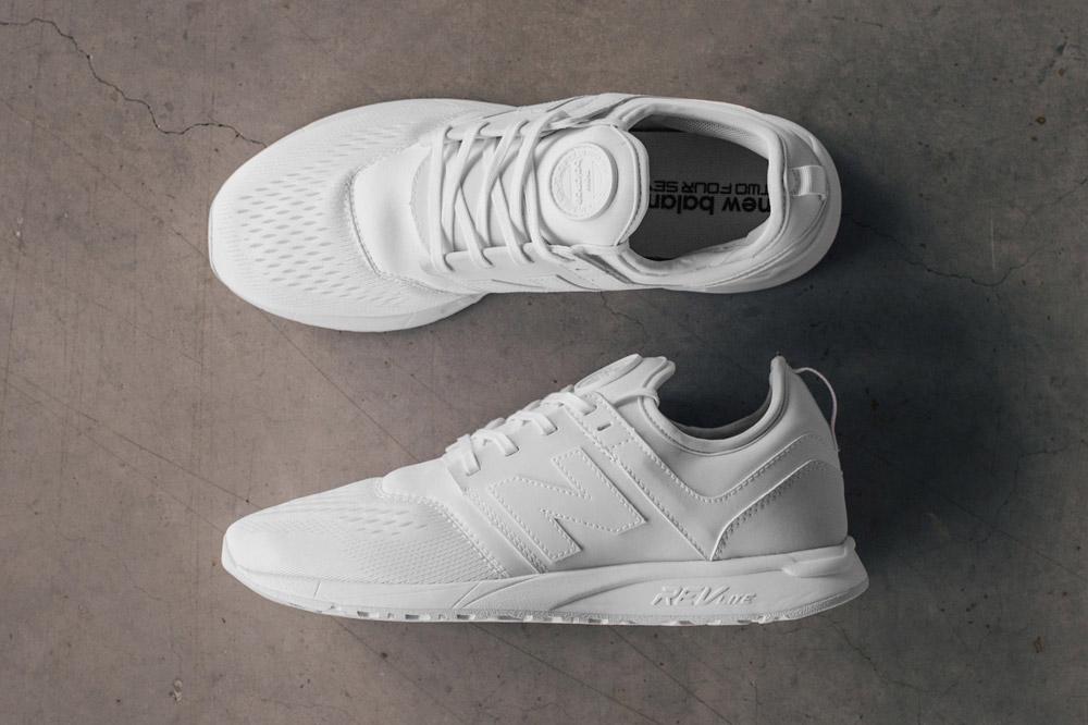 New Balance 247 Sport — boty — tenisky — pánské — sneakers — bílé — white — Breathe Pack