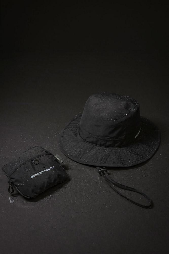Herschel Supply — klobouk — Gore-Tex® — černý — lookbook léto (summer) 2017