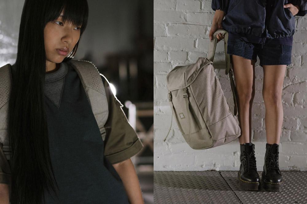 Herschel Supply — batoh — Aspect Iona Backpack — khaki — lookbook léto (summer) 2017