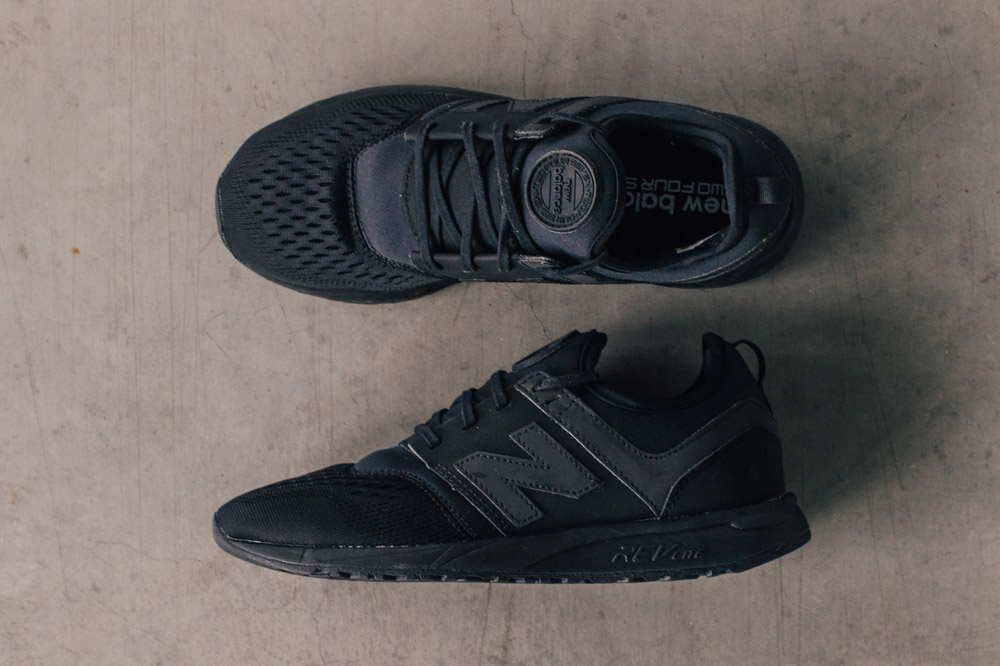 New Balance 247 Sport — boty — tenisky — pánské, dámské — sneakers — černé — black — Breathe Pack