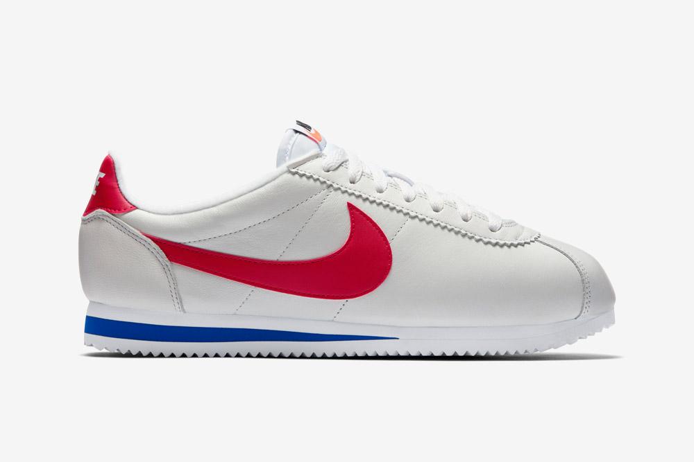 Nike Cortez Leather — bílé boty — tenisky — sneakers — retro — kožené — dámské, pánské