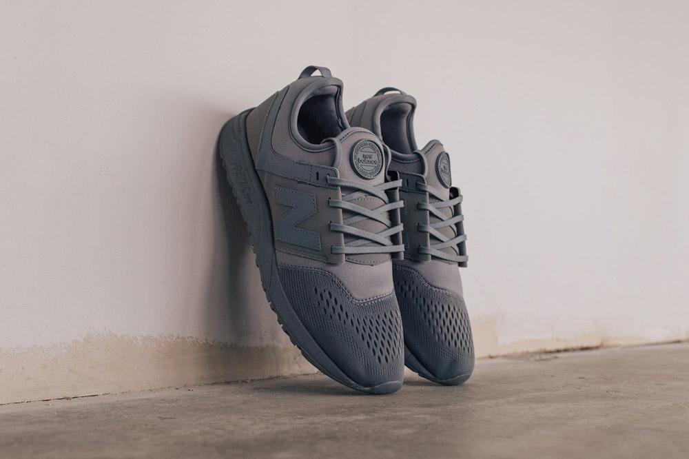 New Balance 247 Sport — boty — tenisky — pánské — sneakers — tmavě šedé — dark green — Breathe Pack