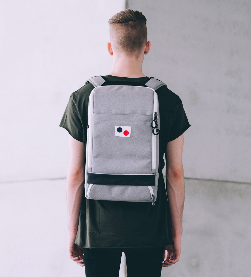Pinqponq — Cubik Large — batoh — recyklovaný z PET — sustainable — backpack