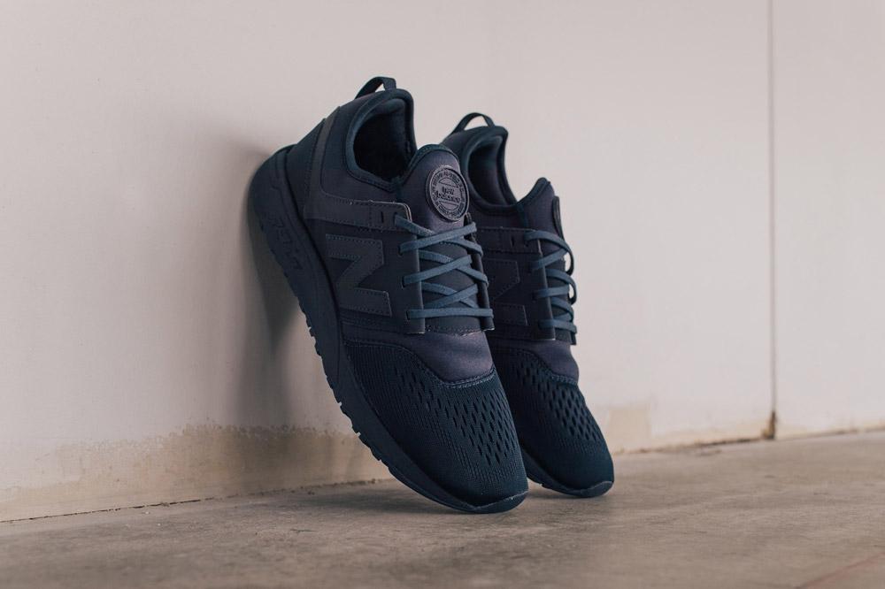 New Balance 247 Sport — boty — tenisky — pánské — sneakers — tmavě modré — army blue — Breathe Pack