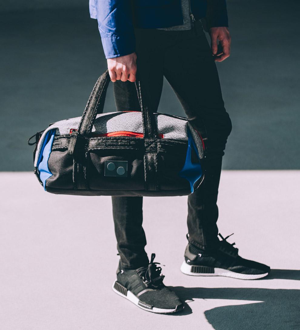 Pinqponq — cestovní taška — Karavan — recyklovaná z PET — sustainable — duffle