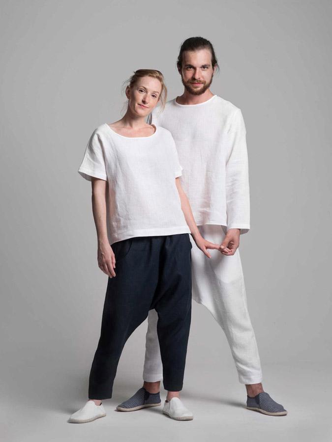 K.BANA — lněné košile — turecké lněné kalhoty — dámské a pánské