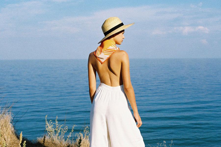 Paris+Hendzel — slaměný klobouk panama — letní — dámský — prirodni