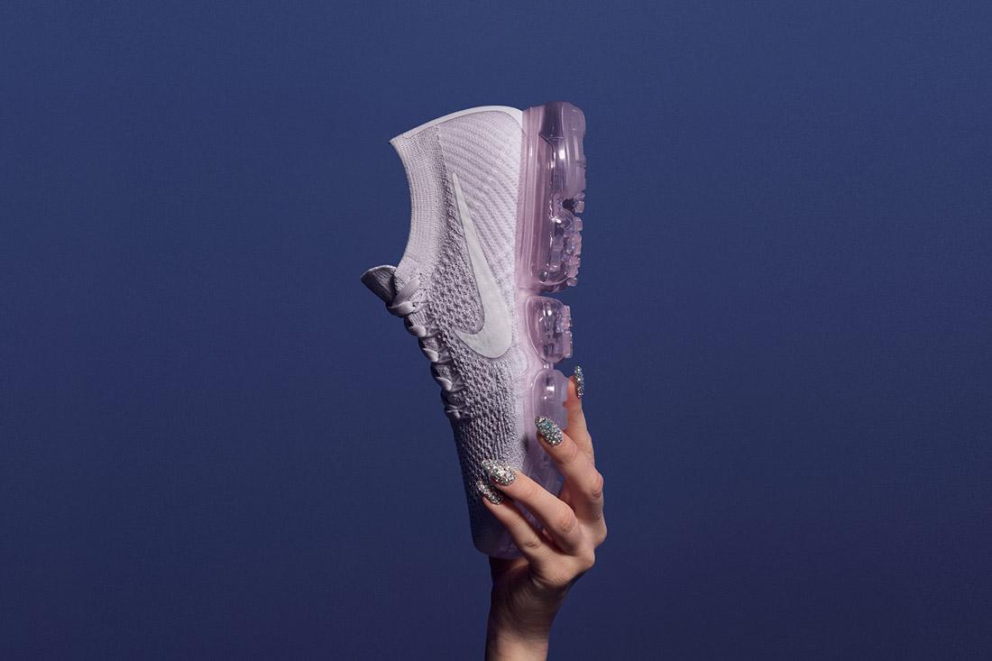 Nike Air VaporMax — boty — tenisky — sneakers — běžecké — světle růžové — light pink — dámské