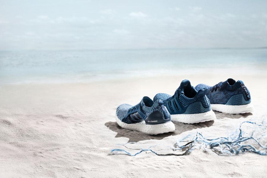 adidas Parley — UltraBOOST X Parley — UltraBOOST Parley — UltraBOOST Uncaged Parley — běžecké boty — recyklované — tmavě modré