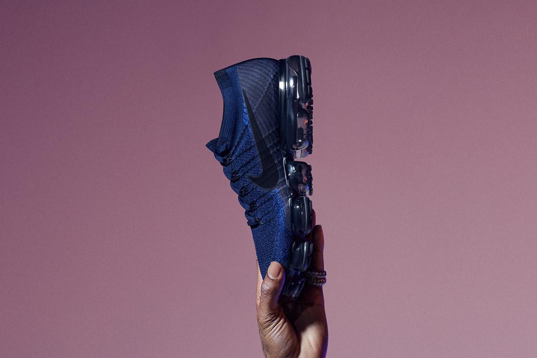 Nike Air VaporMax — boty — tenisky — sneakers — běžecké — modré — blue — pánské