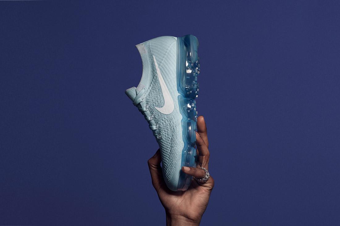 Nike Air VaporMax — boty — tenisky — sneakers — běžecké — svetlě modré, tyrkysové — light blue, turquoise — pánské