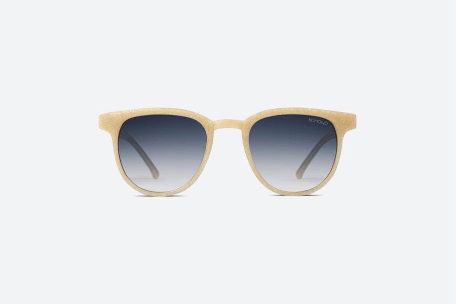 Komono — Francis Neutrø Sand — sluneční brýle — dámské, pánské — pískové — sustainable