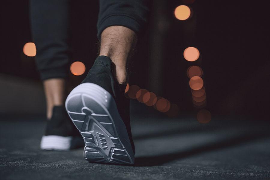 ARKK Copengahen — Eaglezero S-15 Black — boty — tenisky — sneakers — pánské, dámské — černé