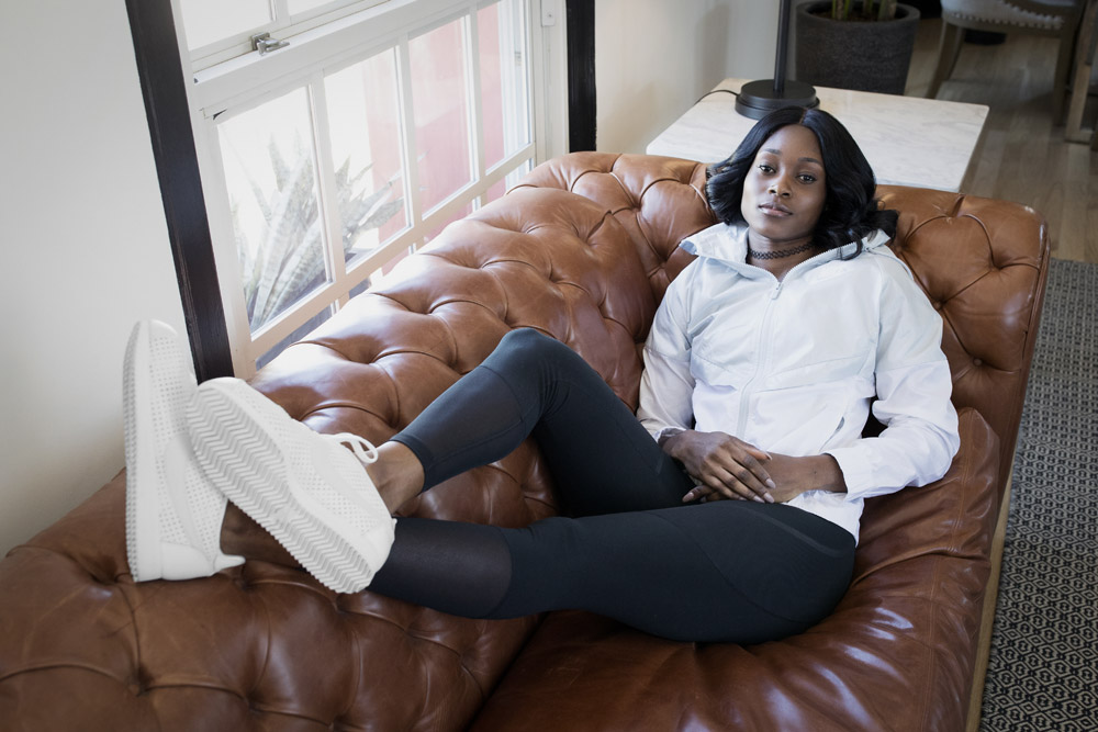 Nike Beautiful x Powerful x Elaine Thompson — dámské boty — Nike Cortez Classic Premium QS — bílé tenisky — sneakers