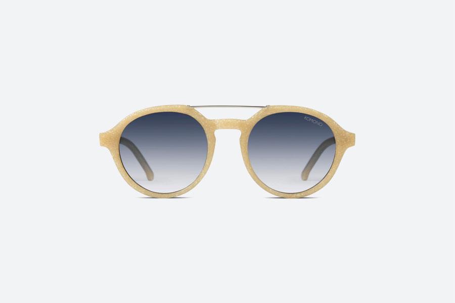 Komono — Harper Neutrø Sand — sluneční brýle — dámské, pánské — pískové — sustainable