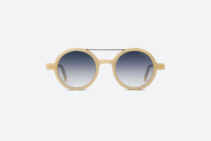 Komono — Vivien Neutrø Sand — sluneční brýle — dámské, pánské — pískové — sustainable